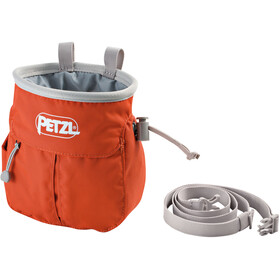 Petzl Sakapoche Chalk Bag, red